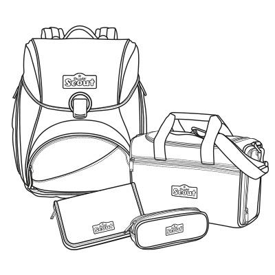 Scout Alpha – der geräumige Schulrucksack