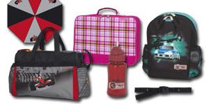 Schirm, Sporttasche, Essbox oder Trinkflasche...