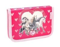 Belmil Classy Schulranzen Set 4-tlg. - HORSE LOVE