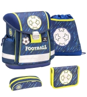 Belmil Classy Schulranzen Set 4-tlg. - WORLD OF FOOTBALL