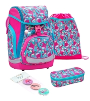 Belmil Comfy Pack Schulranzen Set 4-tlg. - TROPICAL MIX