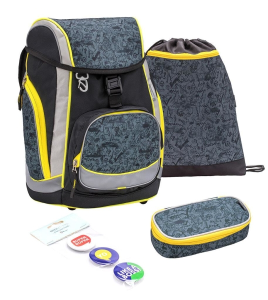 Belmil Comfy Pack Schulranzen Set 4-tlg. - WHATS UP