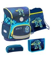 Belmil Compact Schulranzen Set 4-tlg. - SPACE