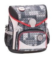Belmil Cool Bag Schulranzen Set 4-tlg. - BRICKS GREY