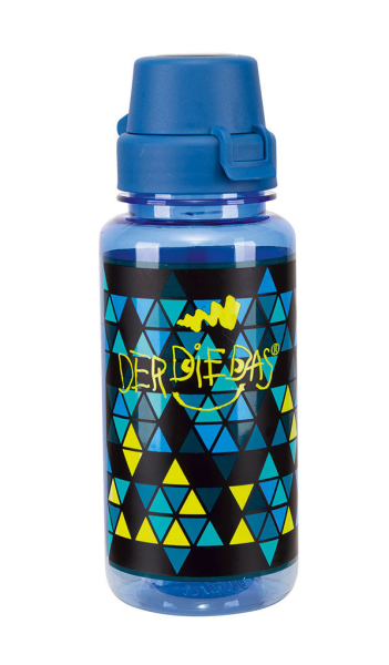 DerDieDas Trinkflasche - BLAU