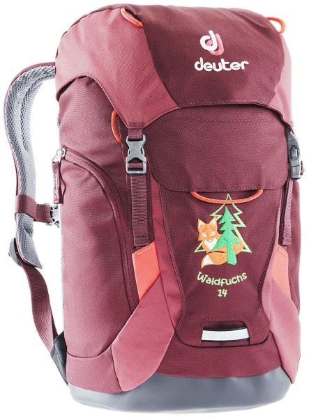 Deuter Kindergarten-Rucksack - Waldfuchs 14 - MARON-CARDINAL