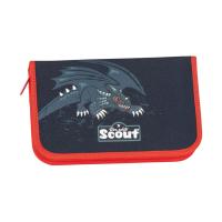 Scout Schulranzen Alpha - BLACK DRAGON - Set 5-tlg.