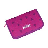Scout Schulranzen Alpha - PINK FLOWERS - Set 5-tlg.