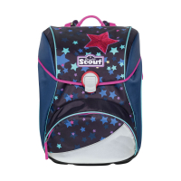 Scout Schulranzen Alpha - SWEET STARS - Set 5-tlg.