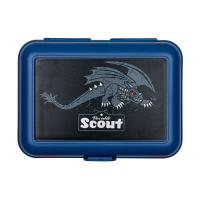 Scout Schulranzen Alpha - BLACK DRAGON - Set 7-tlg. 7