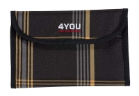 4You Soft Etui, ungefüllt - 357 - BLACK ORANGE KARO