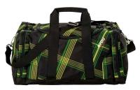 4You Sportbag M - 642 - CHECKER BLACK/GREEN/YELLOW