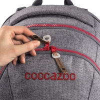 Coocazoo Matchpatch Synthetic Leather - BLACK