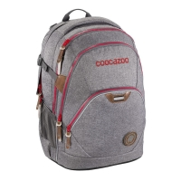 Coocazoo Matchpatch Synthetic Leather - GREY