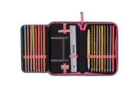 DerDieDas ErgoFlex Buttons Set 6-tlg. - PINK PANDA