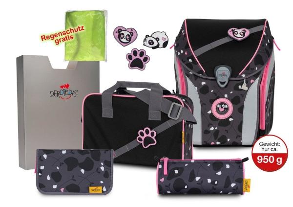 DerDieDas ErgoFlex MAX Buttons Set 6-tlg. - PINK PANDA