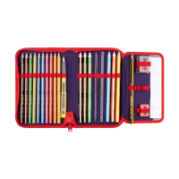 Scout Etui 23-tlg. - 6625 - HAPPY STRIPES