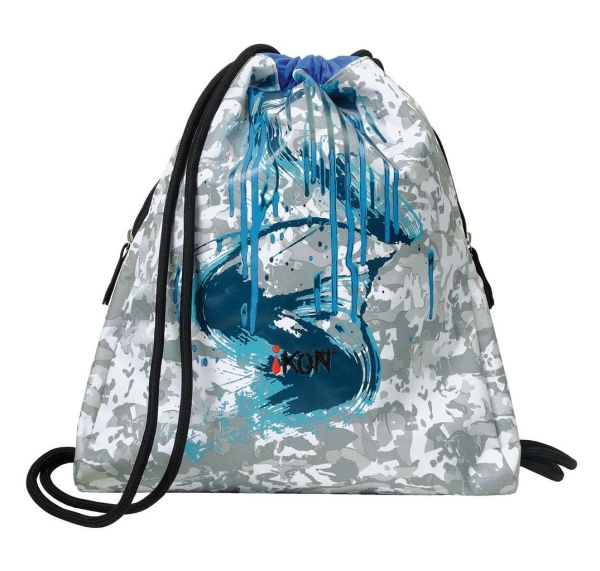 iKON Cinch Bag - PETROL BLUE