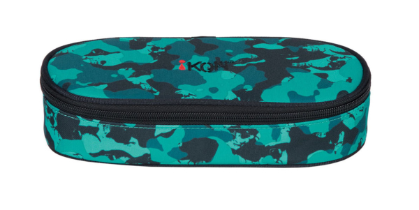 iKON Pencil Case - SKULL TURQUOISE