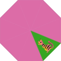 McNeill Taschenschirm - CRAZY CAT