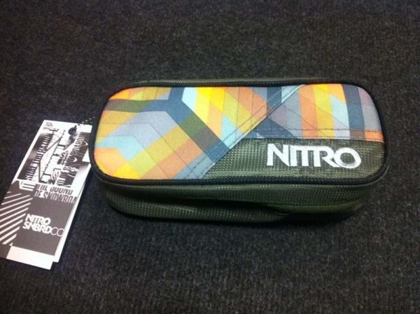 Nitro Etui Pencil Case - GEO ORANGE