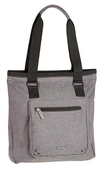 Nitro Shopperbag Tote Bag - COLD METAL