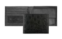 Oxmox Pocketbörse Leder - MONKEY