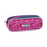 Scout Schulranzen Sunny Safety Light - PINK MANDALA - Set 5-tlg.