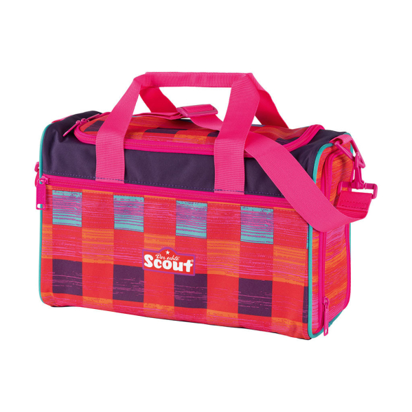 Scout Sporttasche - PINK RAINBOW