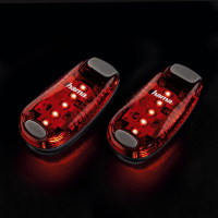 Sicherheits-Klemmleuchten Blinklicht Rot, 2er-Set