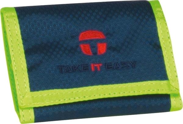 Take it Easy Börse - 488 - LIGHT NYLON blau/lila