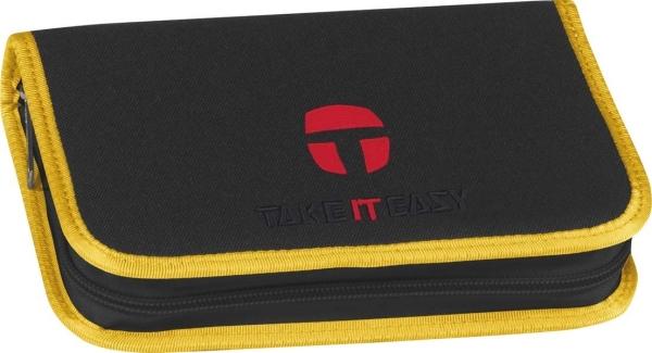 Take it Easy Schüleretui - 480 - COMBI black/yellow
