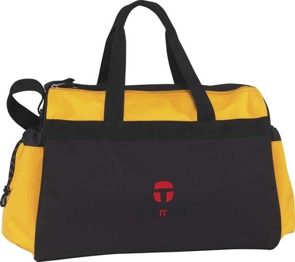 Take it Easy Sporttasche Wien - 480 - COMBI black/yellow