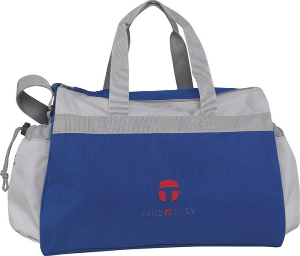 Take it Easy Sporttasche Wien - 480 - COMBI blue/light grey