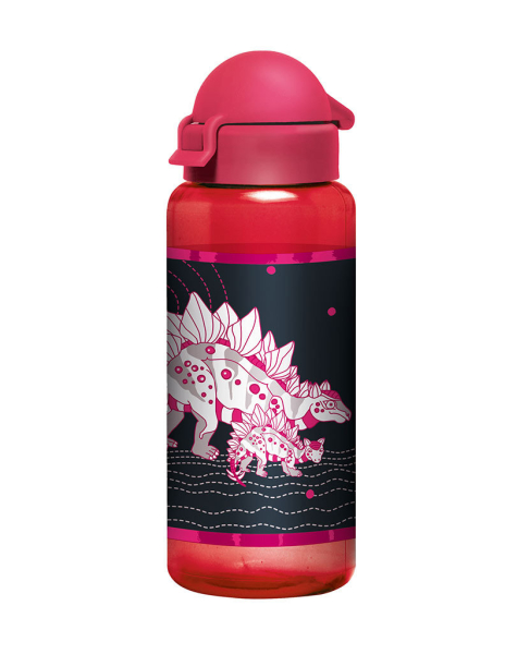 Scout Trinkflasche - PINK DINO