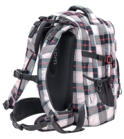 Wave Rucksack Infinity - GREY RED PATTERN