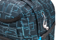 Wave Rucksack Infinity - CUBIC NEON BLUE