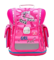 Belmil Sporty Schulranzen Set 4-tlg. - GIRL POWER