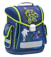Belmil Sporty Schulranzen Set 4-tlg. - SCIENCE TECH