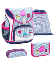 Belmil Cool Bag Schulranzen Set 4-tlg. - PATCH MANIA