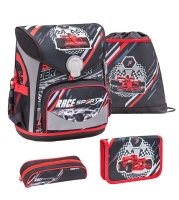 Belmil Cool Bag Schulranzen Set 4-tlg. - RACING SPORT