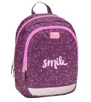 Belmil Kindergarten Rucksack Kiddy - PINK SMILE