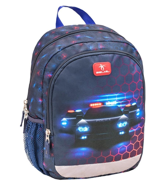 Belmil Kindergarten Rucksack Kiddy Plus - POLICE