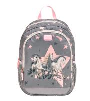 Belmil Kindergarten Rucksack Kiddy Plus - STAR HORSES