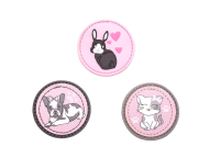 Belmil Patches Set 3-tlg. - FAVOURITE PETS