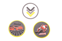 Belmil Patches Set 3-tlg. - RACER