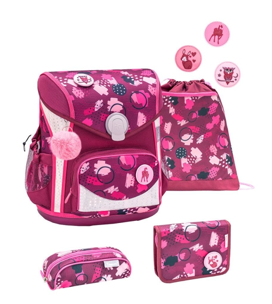 Belmil Cool Bag Schulranzen Set 4-tlg. - FOREST WORLD