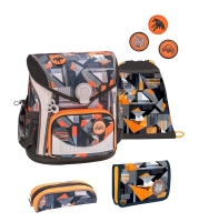 Belmil Cool Bag Schulranzen Set 4-tlg. - WILD WORLD