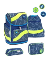 Belmil Smarty Schulranzen Set 4-tlg. - INVASION