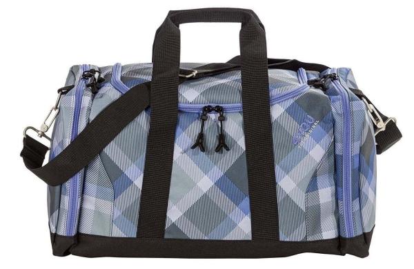 4You Sportbag M - 649 - CHECKER GREY/VIOLET